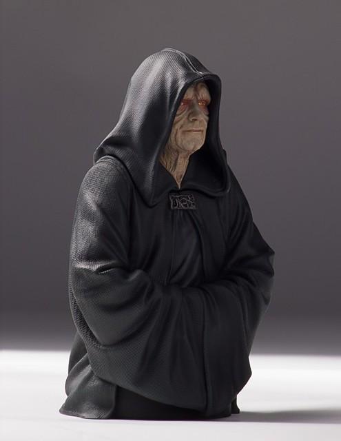 [Gentle Giant] Star Wars - Emperor Palpatine 1/6 Mini Bust 16967999328_092540b23a_z