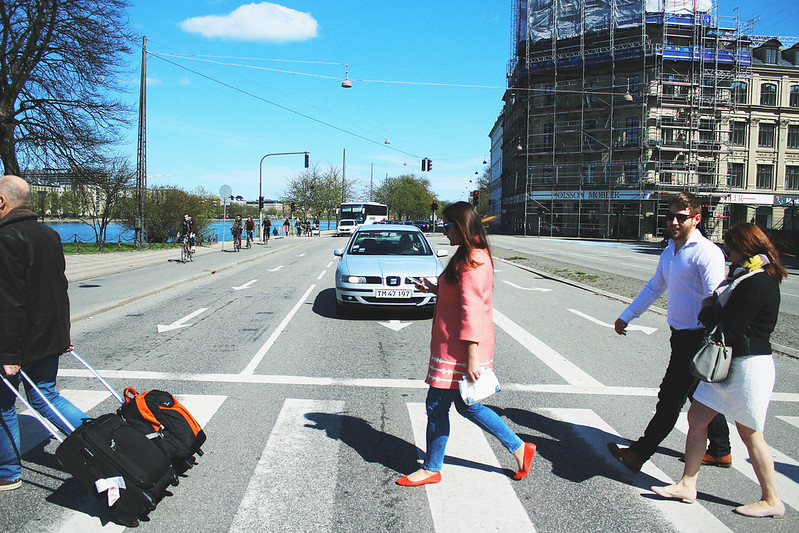 Copenhagen Road Crossing