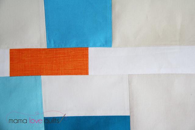Improv mini quilt top2