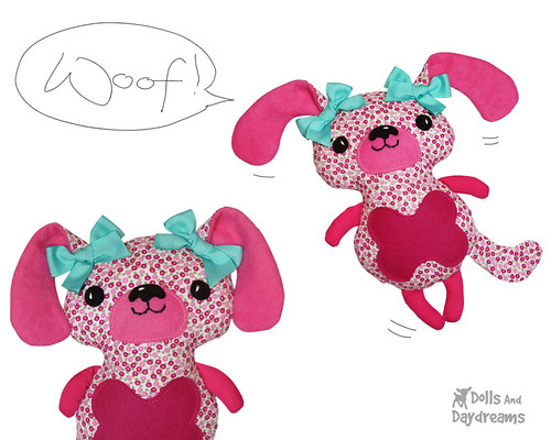 Poochie Puppies Sewing Pattern