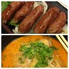 #dinner is served. #Japanese #ramen and #sausages by B3n2ts