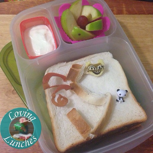 Loving a crust repurpose for this #Viper inspired @easylunchboxes … #KungFuPanda #Dreamworks