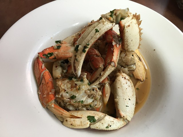 Woodstone roasted dungeness crab - Capurro's Restaurant