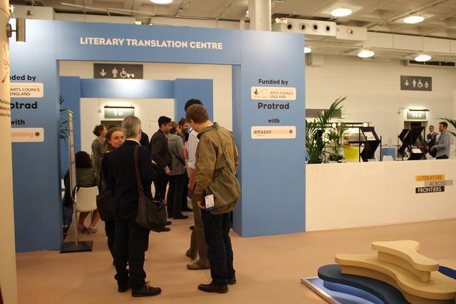 Literary Translation Centre - London Book Fair 2015