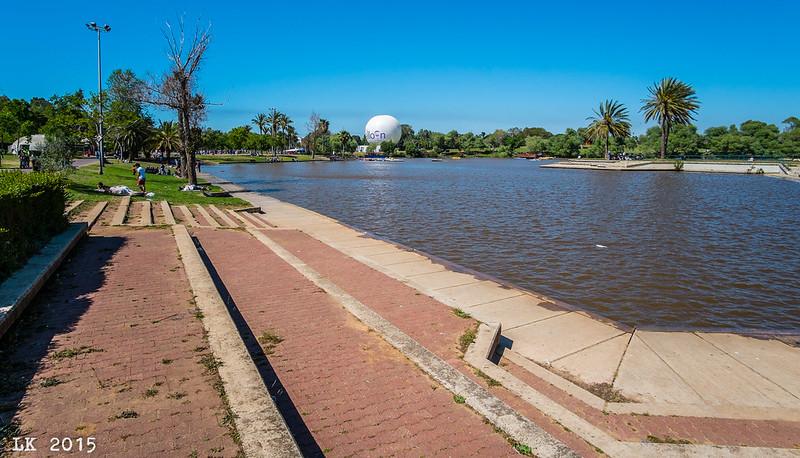 Balloon and Pond, HaYarkon Park