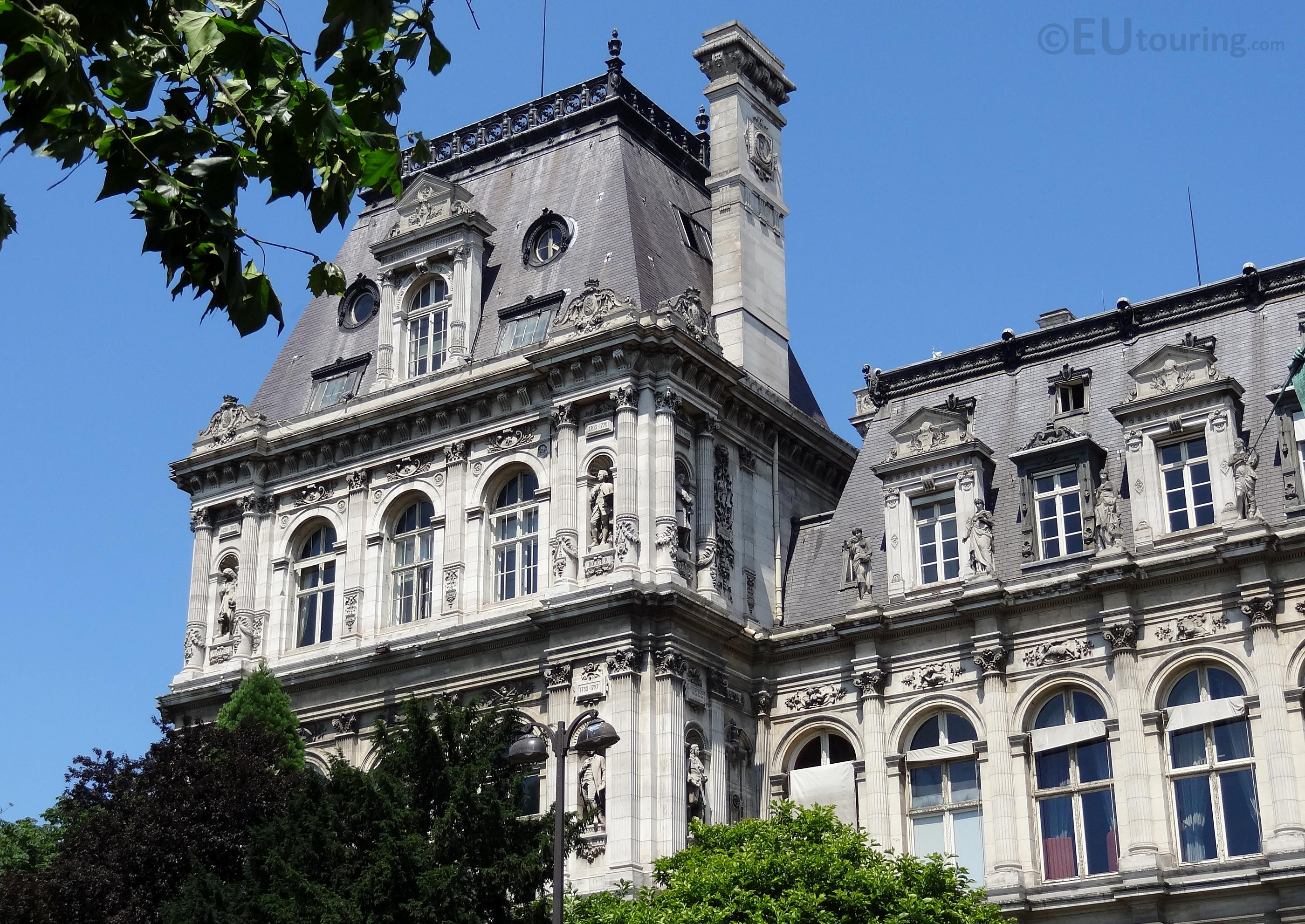 Corner of Hotel de Ville
