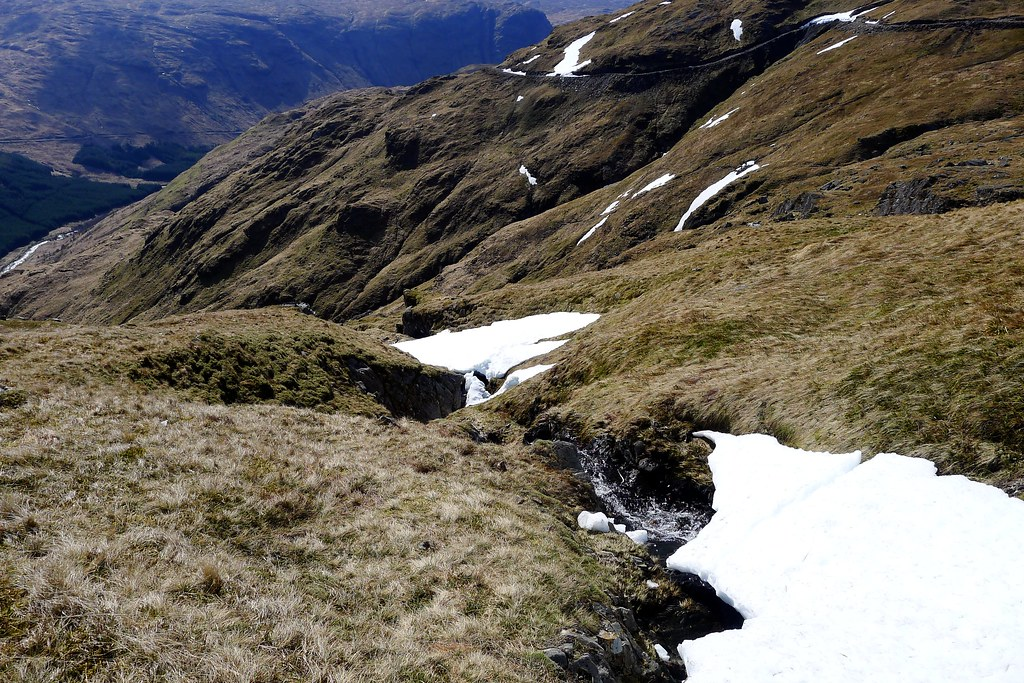 Falls on the descent of Beinn Bhuidhe