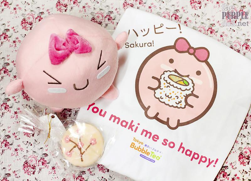 Tokyo Bubble Tea Merchandise featuring the Bubblets