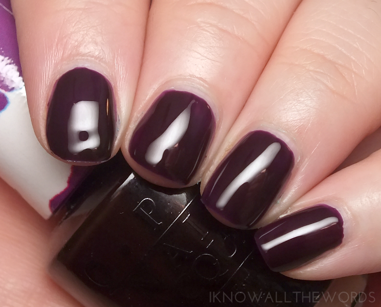 opi colour paints purple perspective