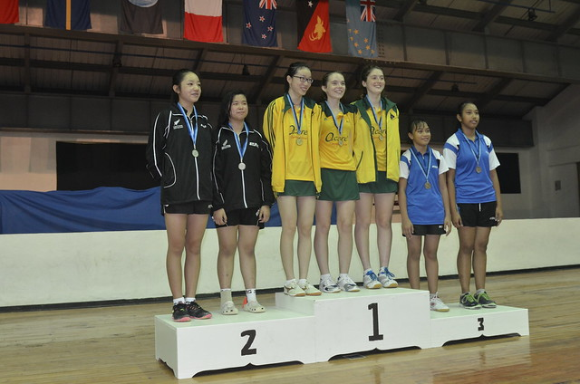 Junior Girls Team Medals