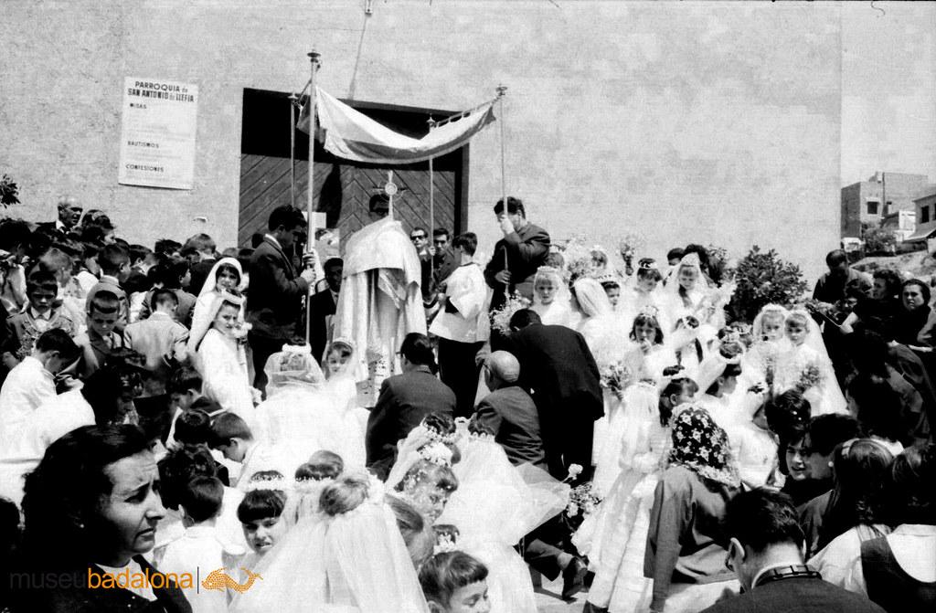 La celebració del Corpus a Llefià. 1961-1963