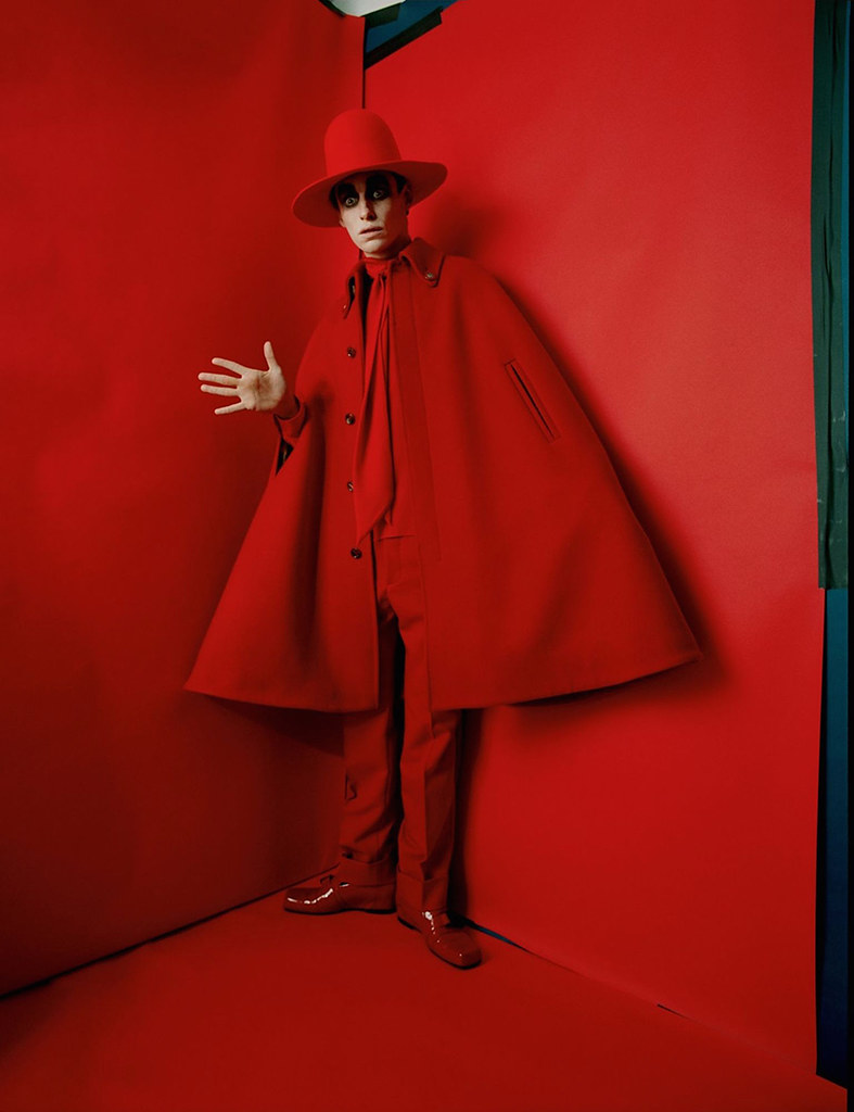 Эдди Редмэйн — Фотосессия для «Vogue» UK 2016 – 1
