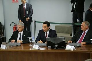 Reunião sobre meta fiscal