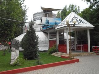 The Three Storey Yurt