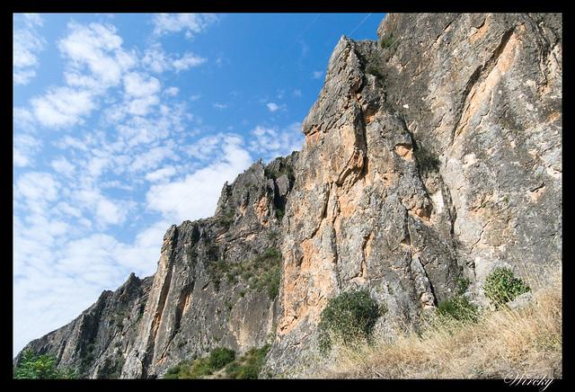 Desfiladero del río Guadiela en embalse de Bolarque