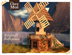 WindMill Multiposes CHEZ MOI