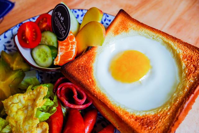 台南 北區–朝氣滿滿,美味早午餐–性格せいかく