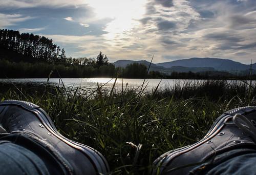 sunset sky sun white lake sol water beautiful canon wonderful lago atardecer moments country cielo converse basque euskalherria euskadi gipuzkoa zerua urku eguzkia urkulu euskoflickr canonist