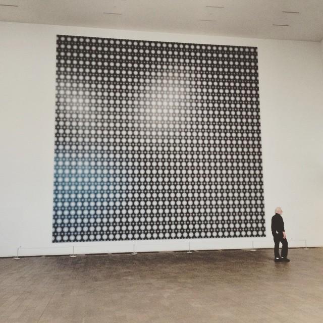 Strontium, Gerhard Richter #deYoungmuseum #sanfrancisco #museums #wanderentes #travelingjourno