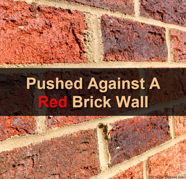 Pushed Against A Red Brick Wall tw