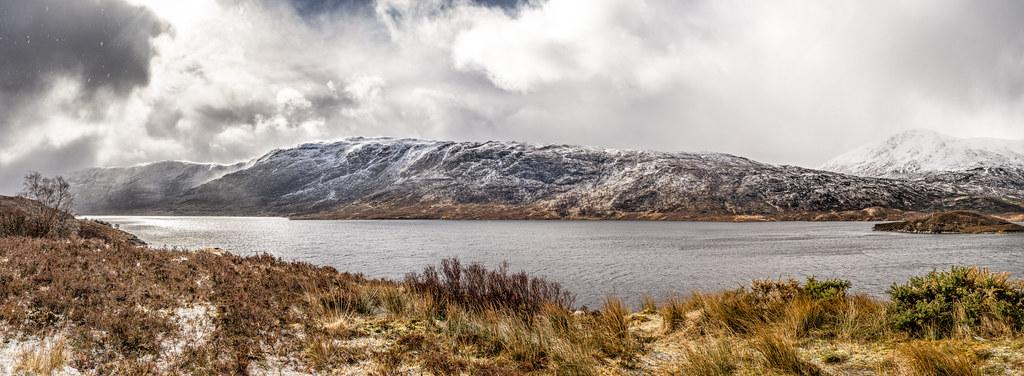 Loch Cluanie, Highlands, Scotland, United Kingdom, Landscape photography picture
