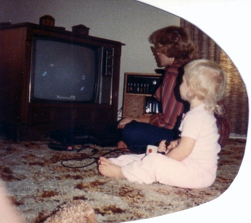 Mini Me Playing ColecoVision...