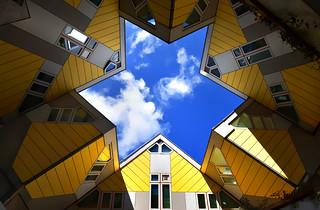 Kubuswoningen / cube houses, Rotterdam