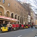 Pedal Cabs Lined Up Outside the Al Hirschfeld / Martin Beck Theatre 0632
