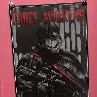 Poster #illustration #art #starwars #forceawakens