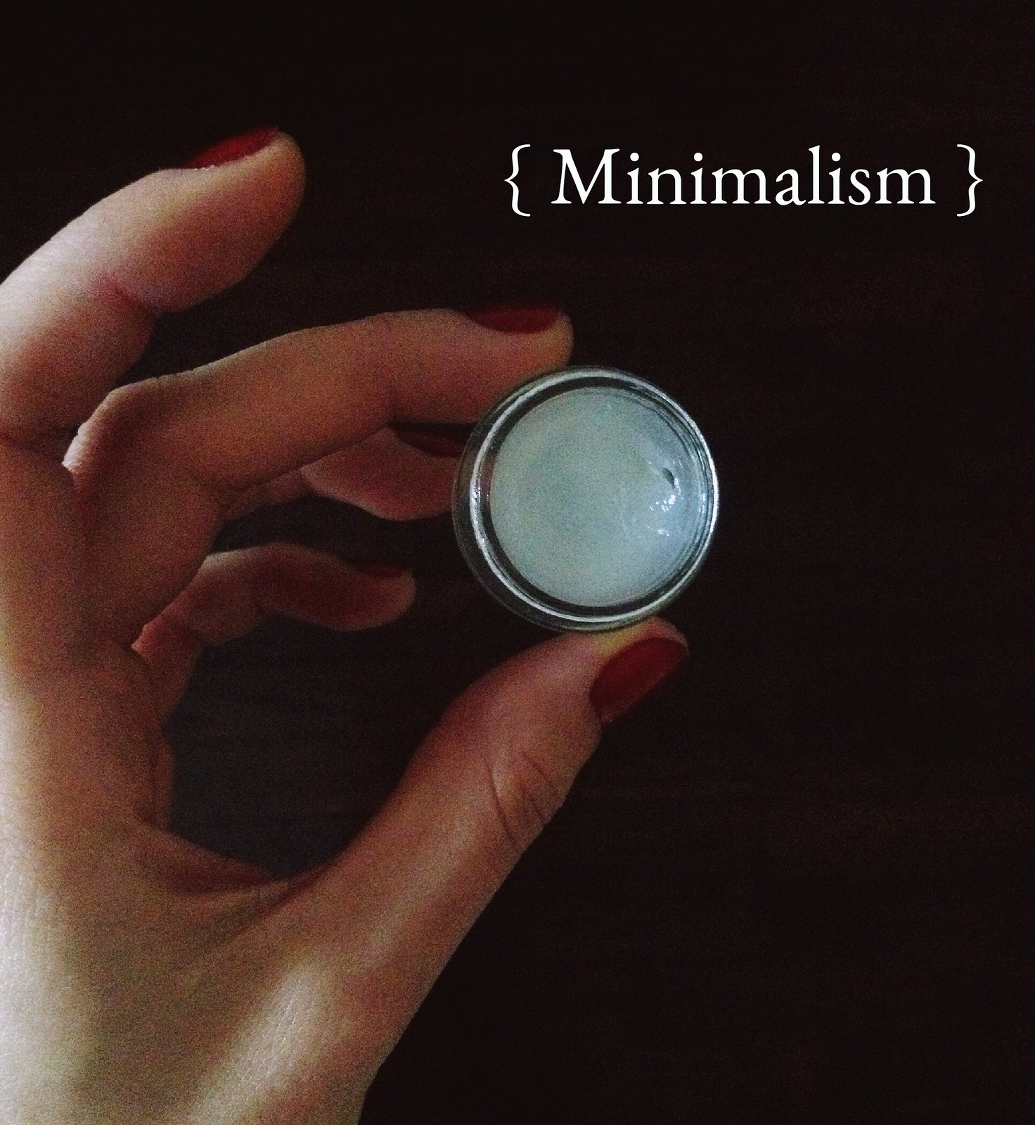 Minimalist make up