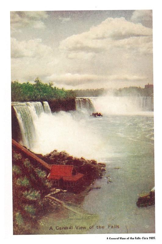 Retro - Niagara Falls - A General View