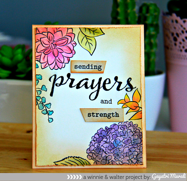 Prayers card day 1