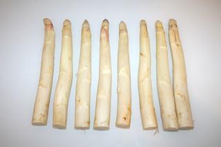 02 - Zutat Lachs / Ingredient asparagus