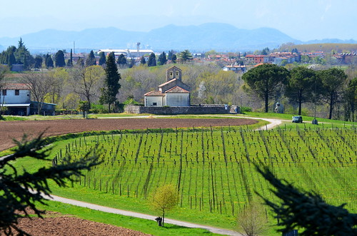 italy panorama church vineyard view fvg ud friuli 2015 friuliveneziagiulia nordest castelliaperti rivedarcano arcanosuperiore castellodarcano