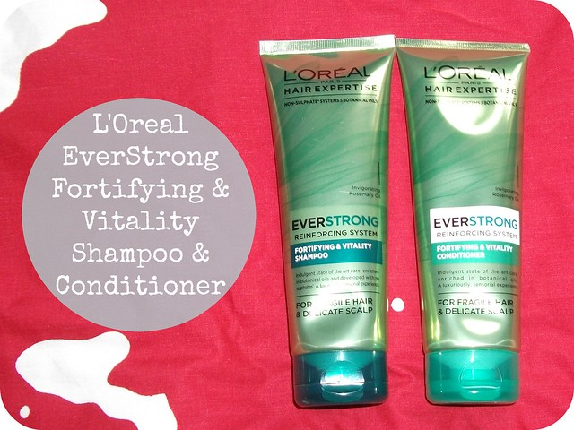 L'Oreal Everstrong Fortifying & Vitality Shampoo & Conditioner