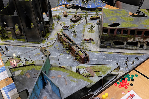 Across the Dead Earth Table at Salute 2015