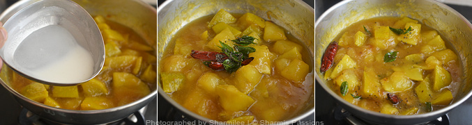 How to make Mango pachadi - Step4