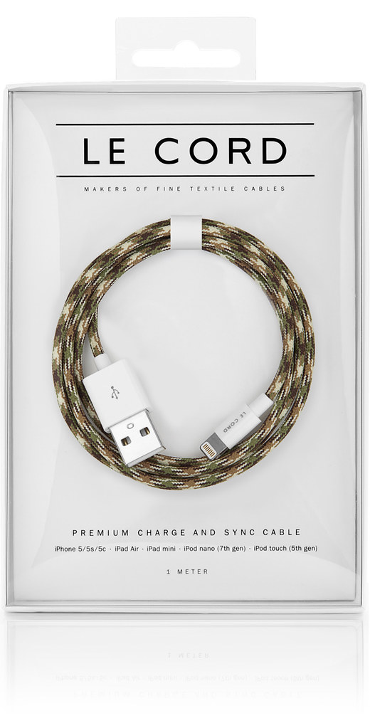 LeCord_Camo_iPhone_Textile_Cable