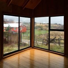 La casa abierta al paisaje.
