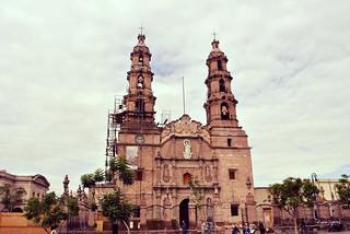 Catedral de Aguascalientes.