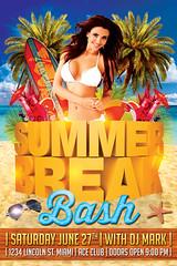 Summer Break / Summer Beach Flyer