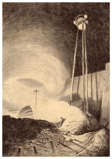 015-La Guerre des Mondes illustreè par Alvim Corrêa-1906- Heritage Auctions