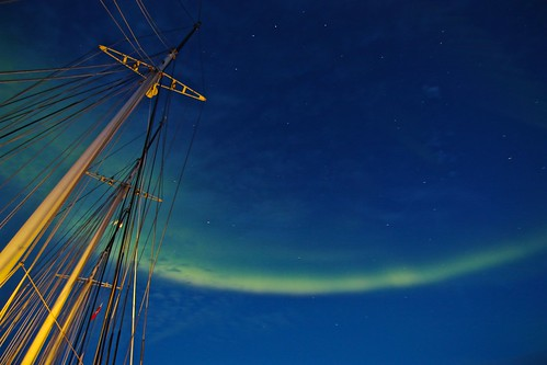 longexposure travel blue sky green expedition nature clouds stars landscape sailing ship view nightshot vessel arctic greenland shutter fjord northernlights auroraborealis groenland gronland clicheforu christianpetit oceanwideexpedition adrenalineverbier sailingwiththenorthernlights