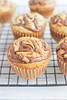 Banana Muffins with Nutella Swirl