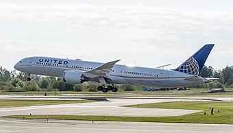 United B787-9 (United)