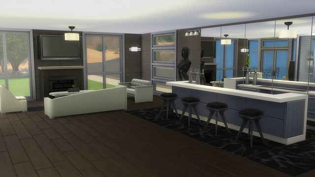 Decoraci n de estilo moderno tutorial y descarga pekesims for Muebles para los sims 3