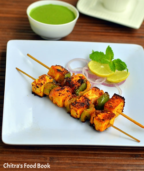 Paneer tikka recipe stove top