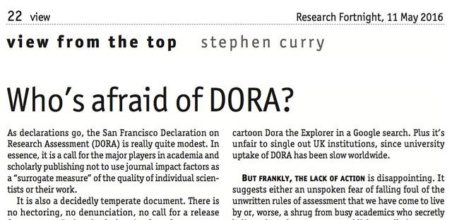 DORA Article