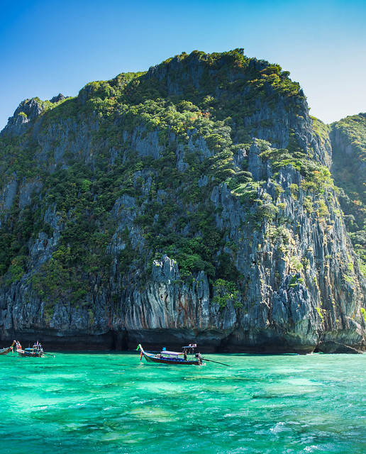The Sheer Cliffs Of Thailand