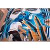 @dourone at work in #Marrakesh for the closing party of the @mkechbiennale together with @mb6streetart. #Wallkandy #art #Streetart #graffiti #mural #mb6streetart #dourone #fb #f #t #p
